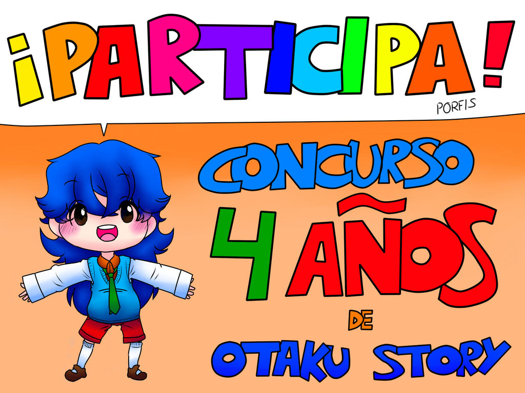 Participa en el concurso de 4 con Otaku Story! by irenereru