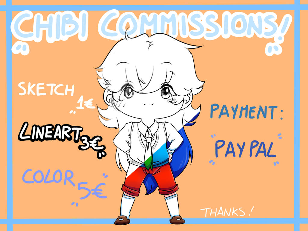 Chibi Commissions OPEN! by irenereru