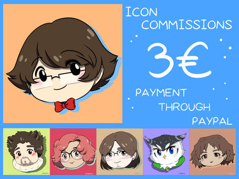 CHIBI ICON COMMISSIONS OPEN!