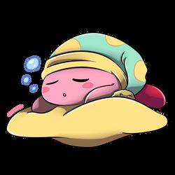 Sleepy Kirby Commission