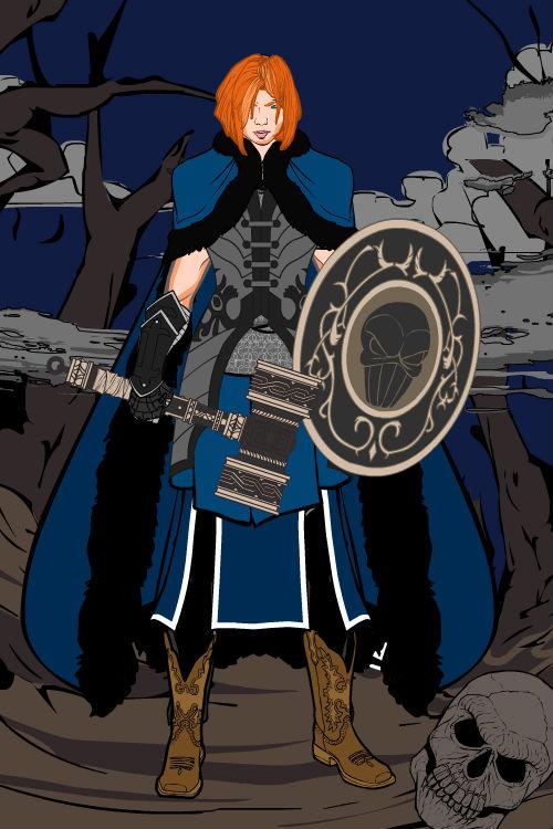 Kara...Paladin knight?! by Finaltelkai