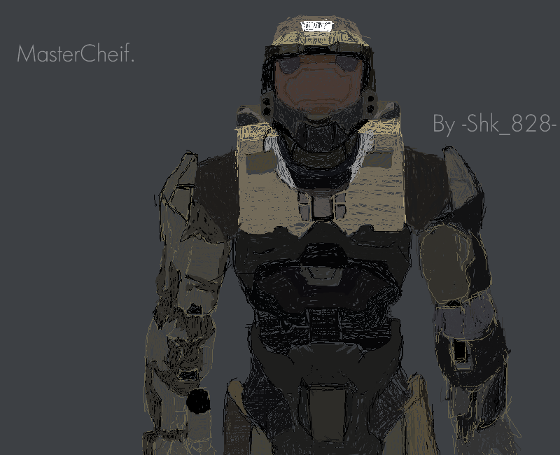 Masterchief Pencil Tool by shk828