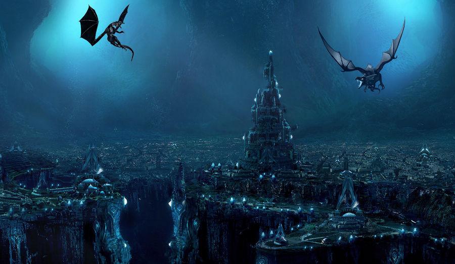 underground city by demonslayer502 on DeviantArt
