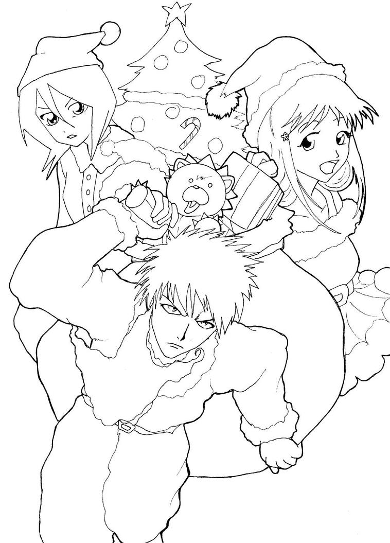 Bleach yoruichi coloring page coloring pages - Coloriage bleach ...
