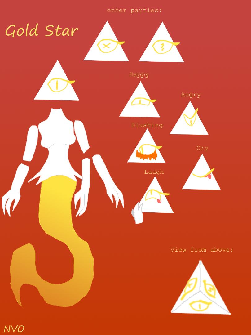 Gold Star by NeonVioletOwl