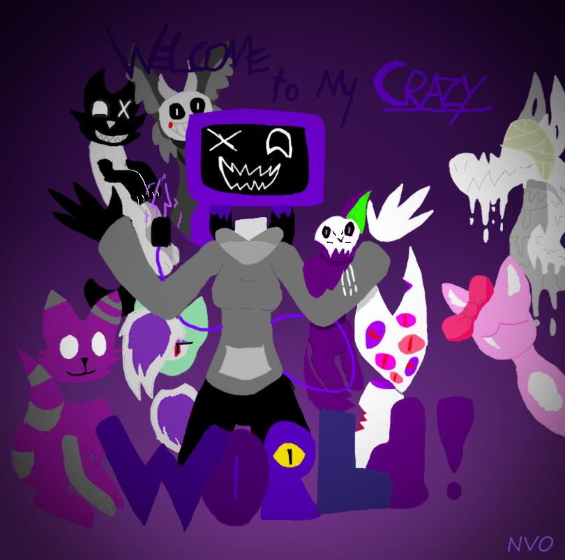 Crazy World by NeonVioletOwl