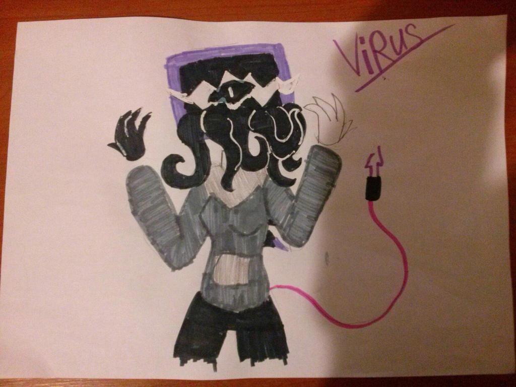 Virus by NeonVioletOwl