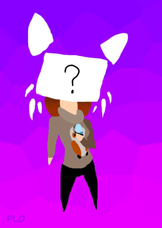 Anon(Chibi) by NeonVioletOwl