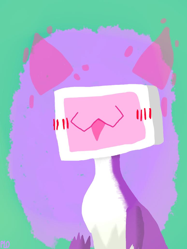Lilo Neo (Happy) by NeonVioletOwl