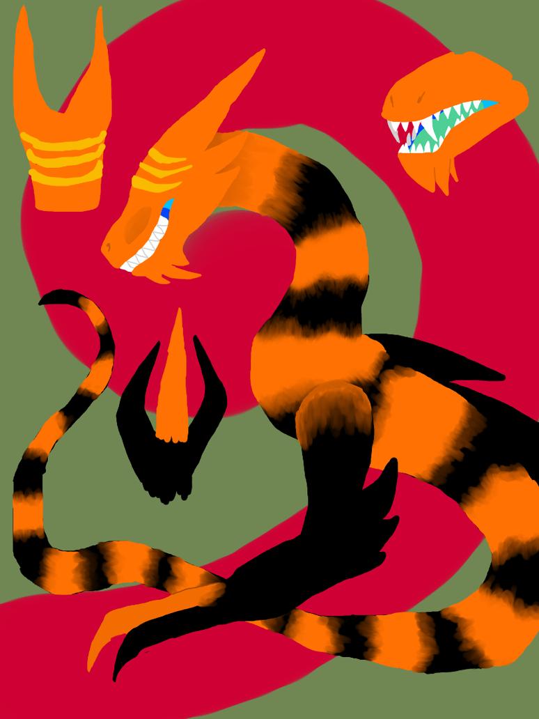 Tiger by NeonVioletOwl