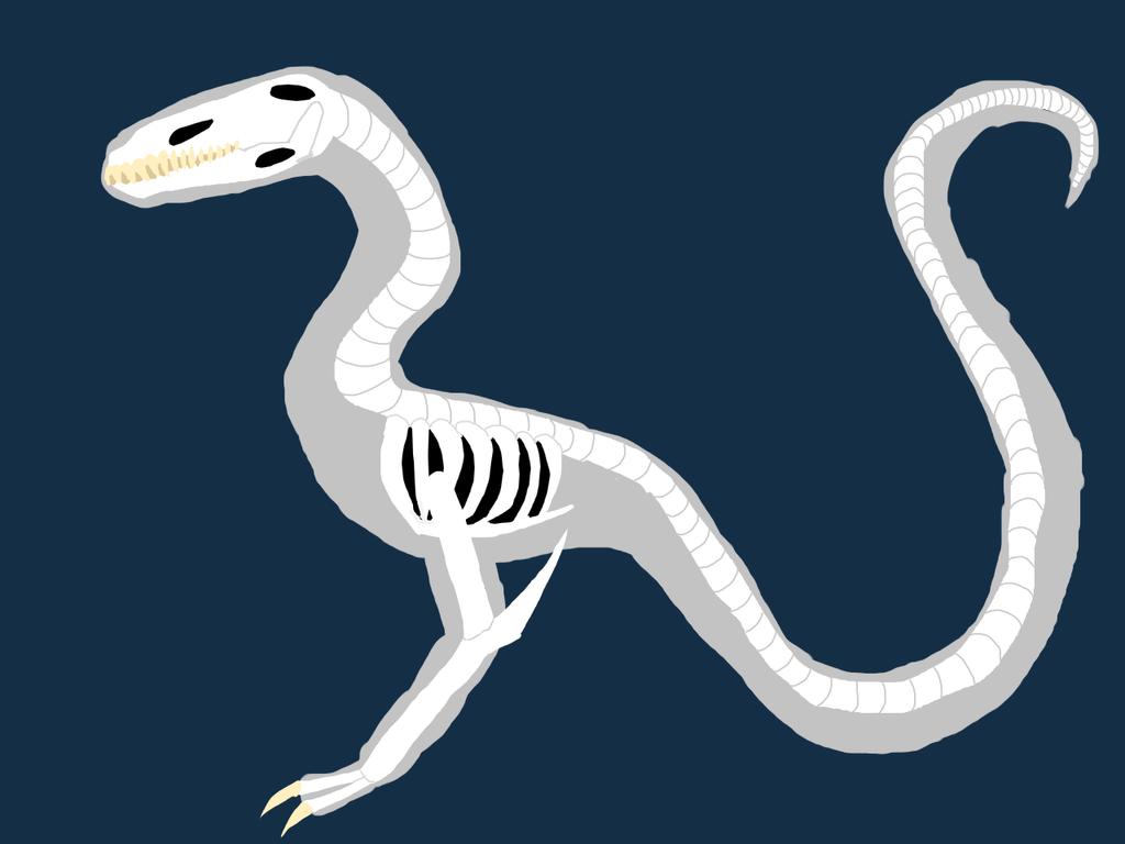 Blind Hunter's Skeleton by NeonVioletOwl