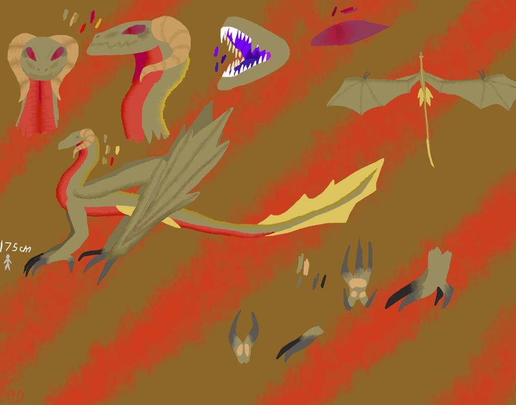 Desert Leviathan by NeonVioletOwl