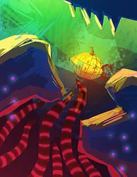 Swim Swim Submarine! by dayMdel