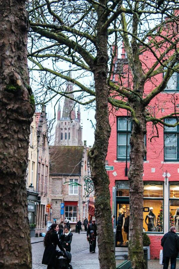Bruges - Winter Streets by Akentmen