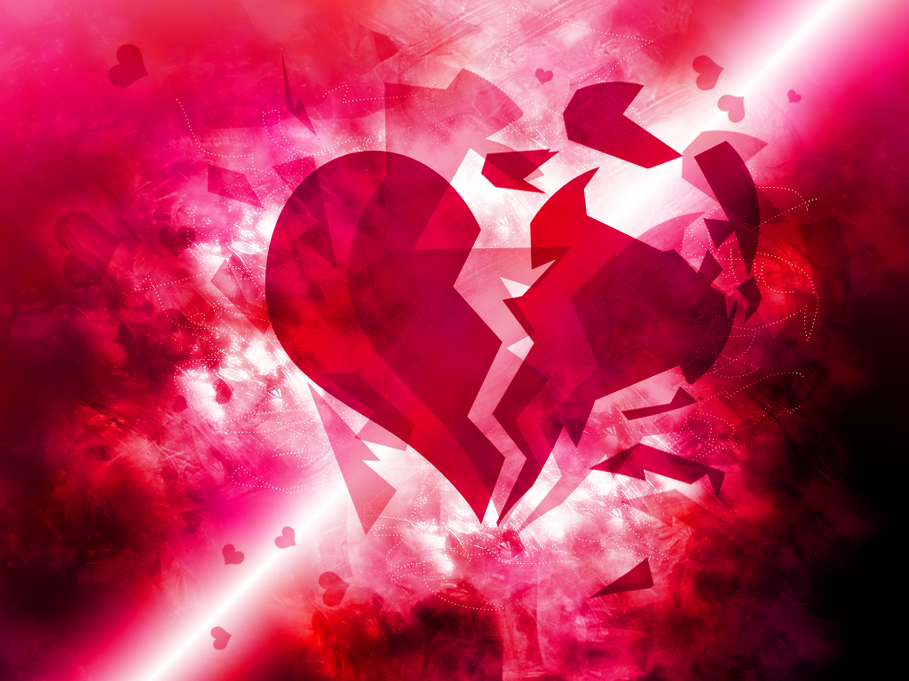 wallpaper broken heart - photo #8