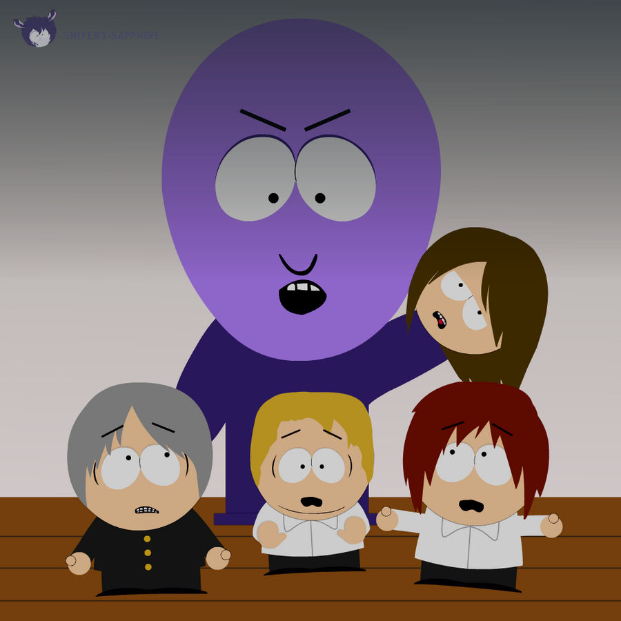 Southpark Ao Oni By Shivery Sapphire On Deviantart