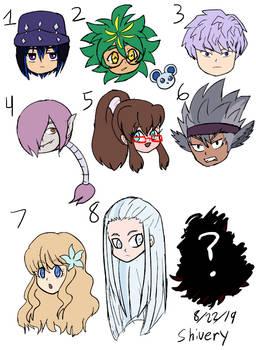 Sketch Chibi OC concept