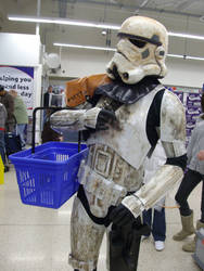 Shopping Stormtrooper