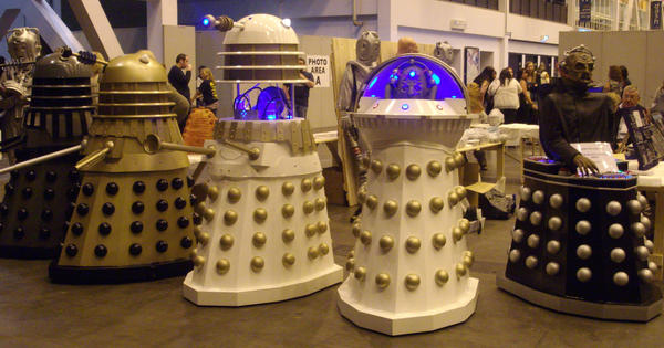 Variety of Daleks by lunamaxwell