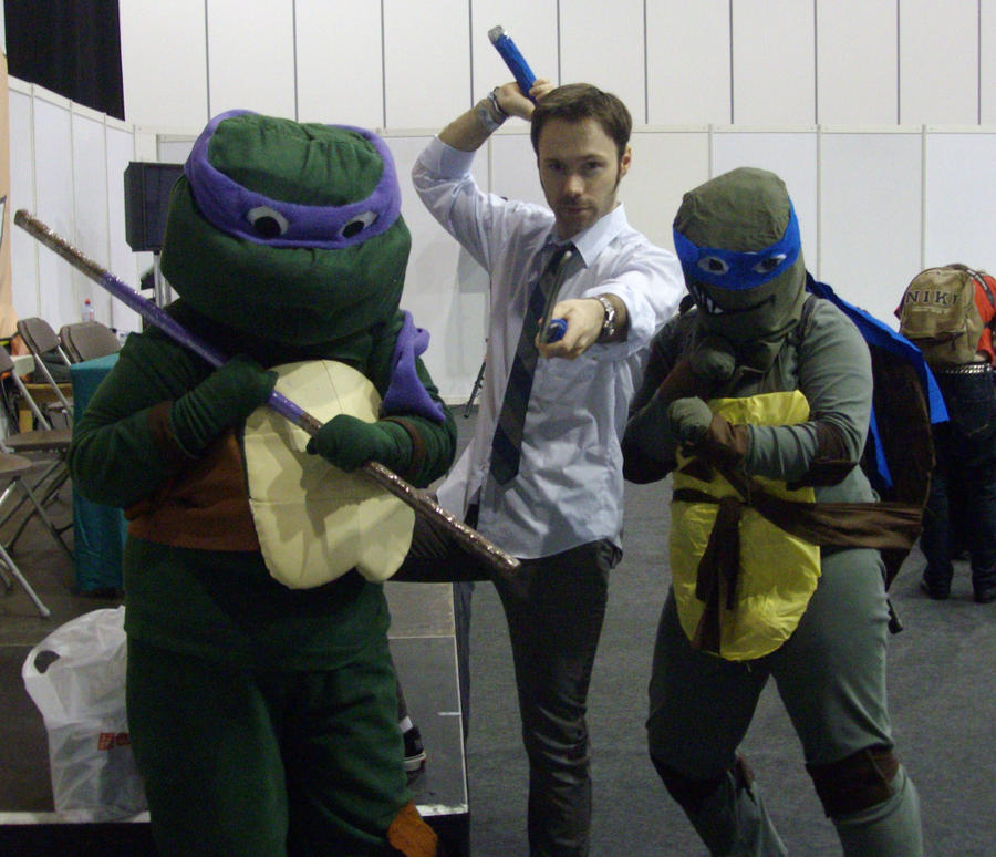 turtles with Michael Sinterniklass