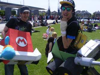 Mario Kart by lunamaxwell