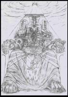 Tzeentch Sorcerer Lord by Paraxyzm