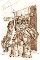 Warhammer 40k - Night Lord by Paraxyzm