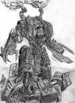 Chaos Dreadnought-Ushabti