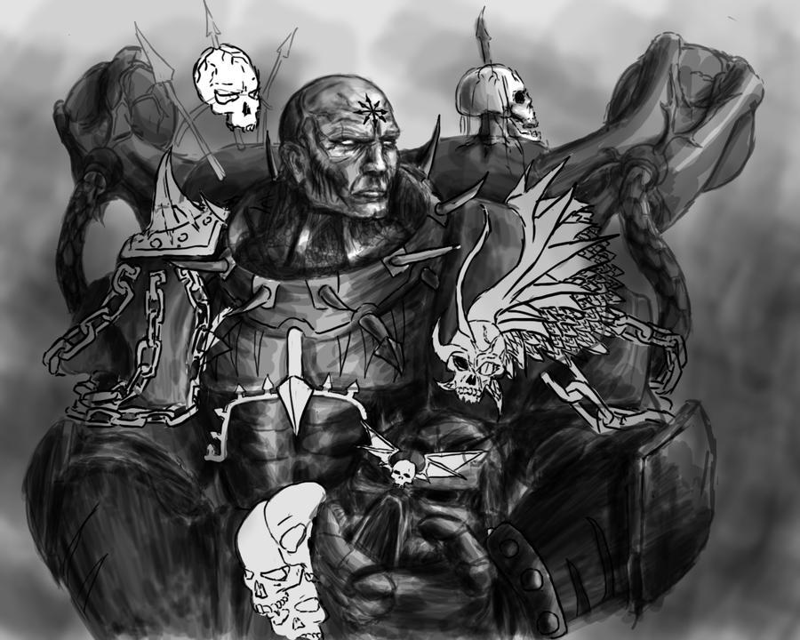 chaos wallpaper warhammer