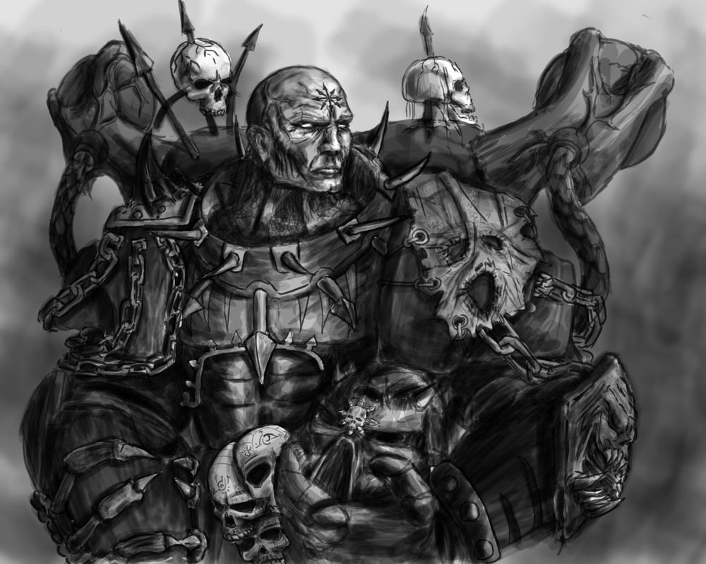 [W40K] Collection d'images : Space Marines du Chaos - Page 2 Chaos_spase_marine_final_by_paraxyzm-d3yp03r