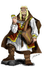 Skald In Color by Paraxyzm