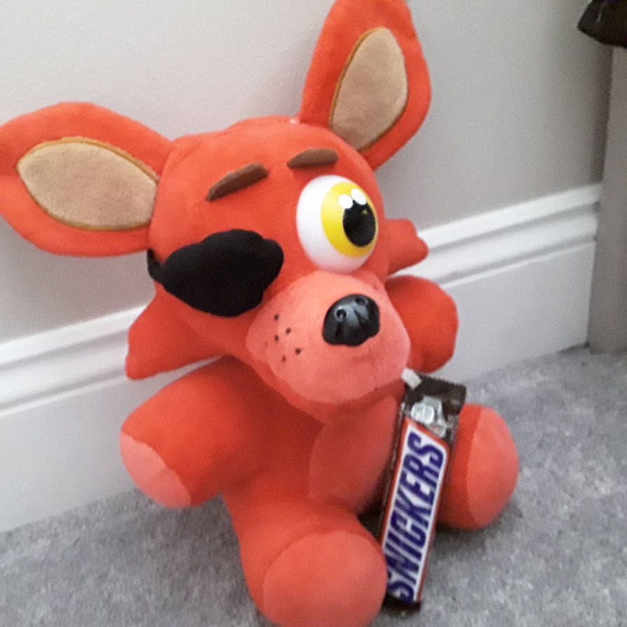 Foxy Finally Gets His Snickers.