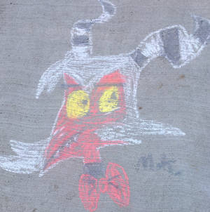 Moxie in Chalk!