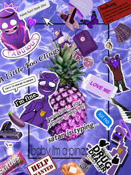 Purple Guy PicsArt WallPaper