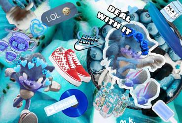 Sonic PicsArt WallPaper