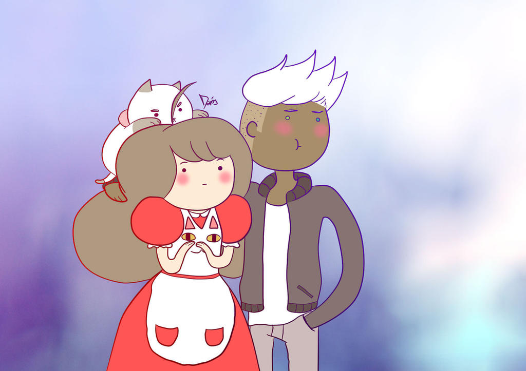 PuppyCat, Bee and Deckard by Moony-14-Lucky