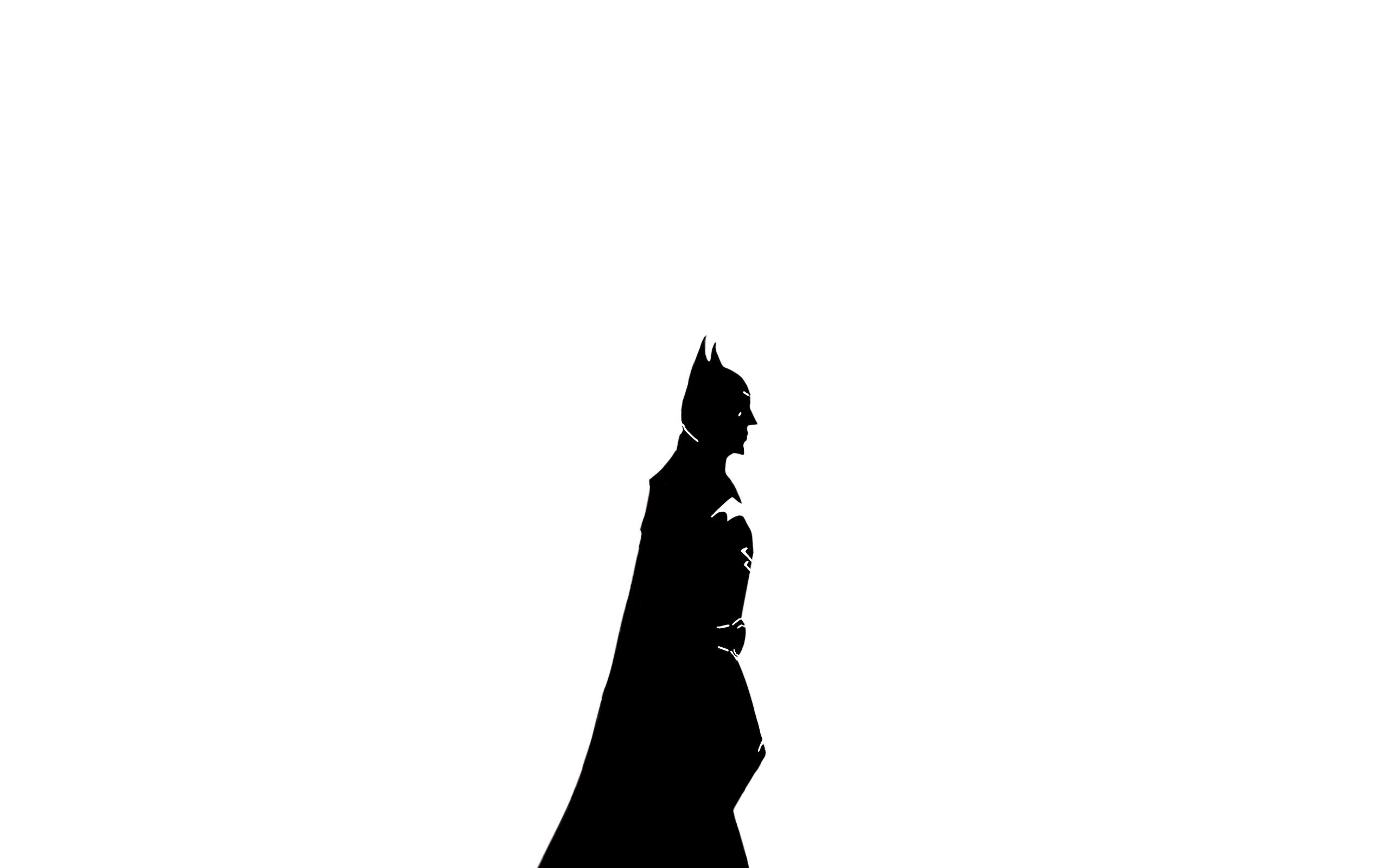 Batman Wallpaper White Version By Zachzaki On Deviantart