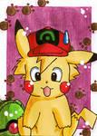 KAKAO CARD Ash as Pika
