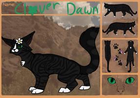 Cloverdawn | Warrior of Sunclan by Staraptorlover56