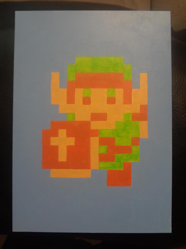 zelda 1 pixel art
