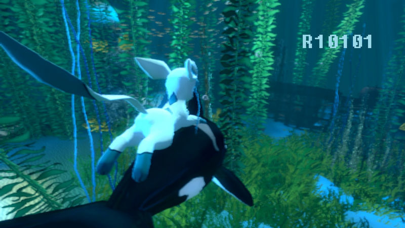 Gmod) Glaceon Explores Underwater(3rd Person POV) by ryan1010101 on