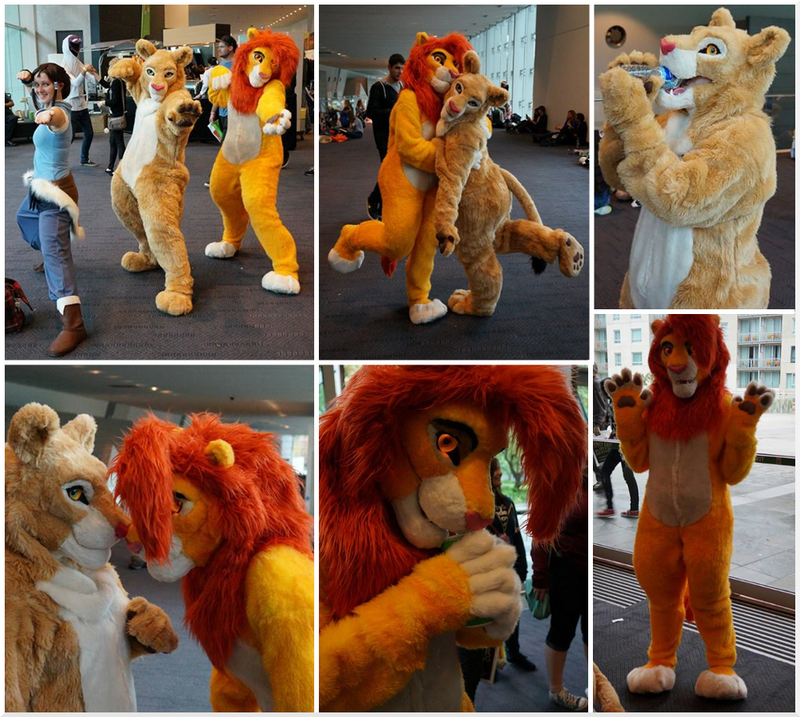 Lions at Supanova by HybridCreampuff