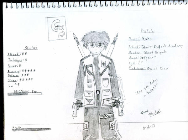 GB Profile: Kaho by KitsuneHavoc