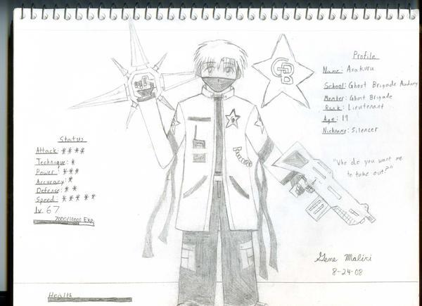 GB Profile: Asakura by KitsuneHavoc