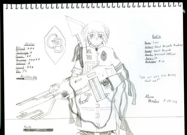 GB Profile: Lavi by KitsuneHavoc