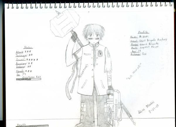 GB Profile: Mizumi by KitsuneHavoc