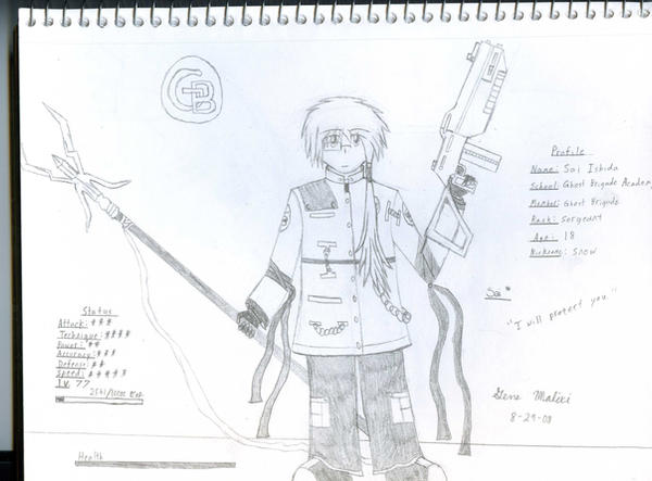 GB Profile: Sai by KitsuneHavoc
