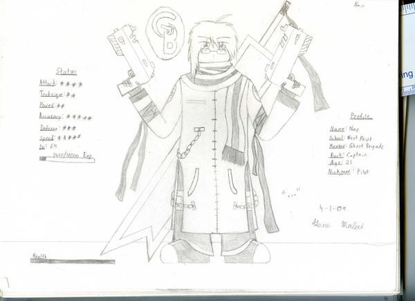 GB Profile: Nao by KitsuneHavoc