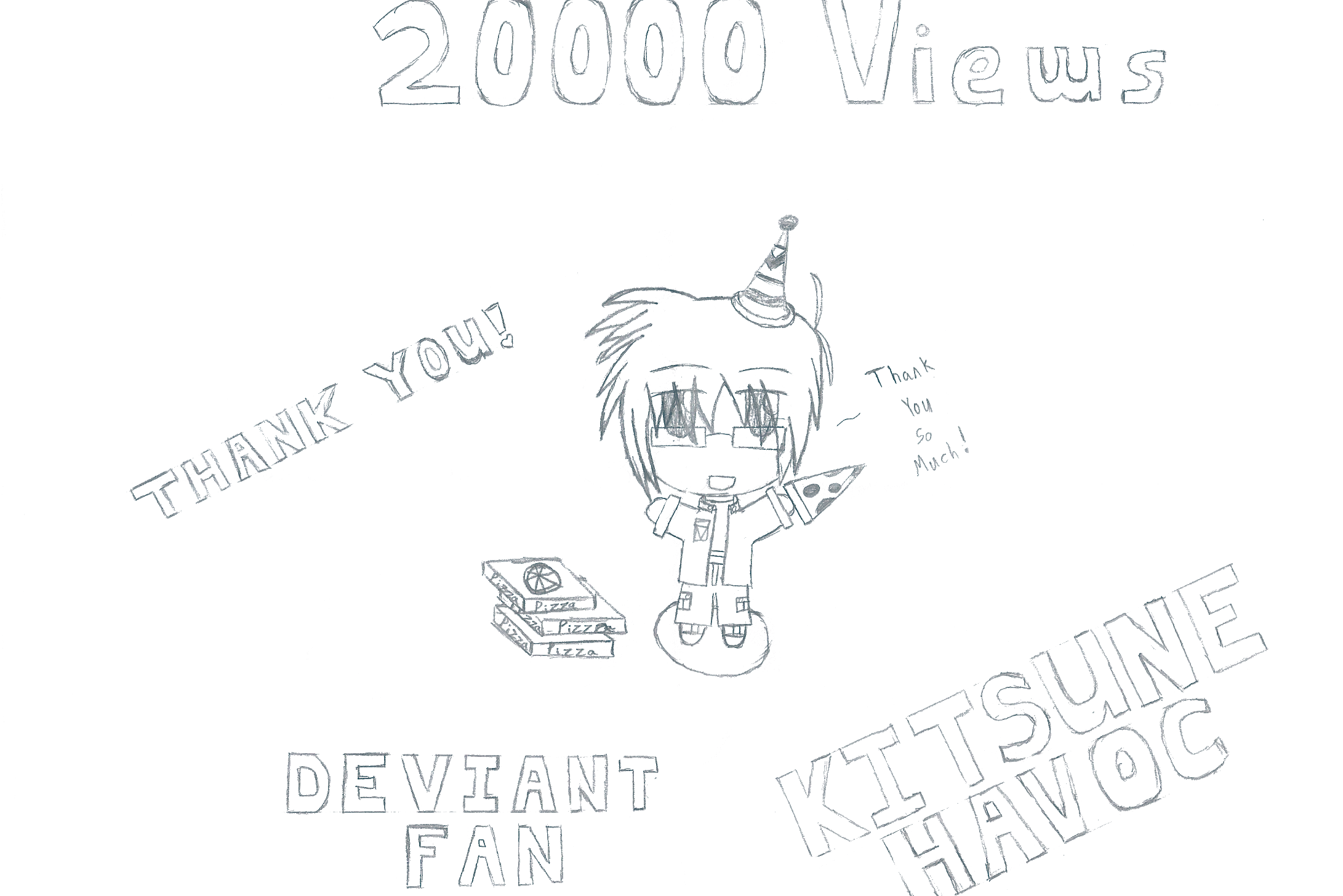 20000 Views by KitsuneHavoc
