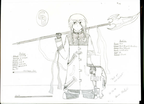 GB Profile: Kou by KitsuneHavoc